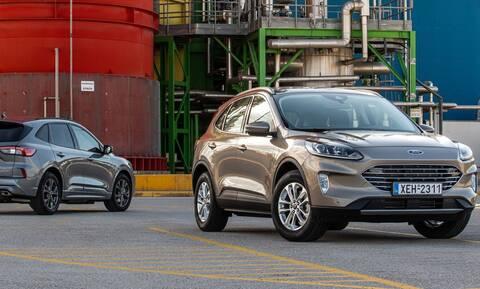 Το νέο Ford Kuga είναι ευχάριστο, άνετο και ως diesel οικονομικό