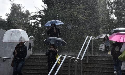 Επιδείνωση του καιρού με ισχυρές βροχές και καταιγίδες - Πότε θα βελτιωθεί