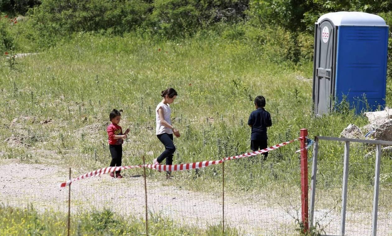 Κορονοϊός: Περιορισμός κυκλοφορίας στη δομή προσφύγων Πολυκάστρου