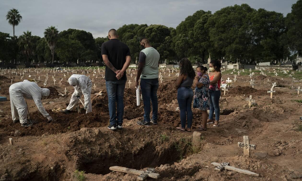 Κορονοϊός - Στοιχεία σοκ: «Ο ιός σκοτώνει έναν Βραζιλιάνο κάθε λεπτό»