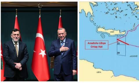«Γενί Σαφάκ»: Ερντογάν και Σάρατζ ξεκινούν έρευνες κάτω από την Κρήτη