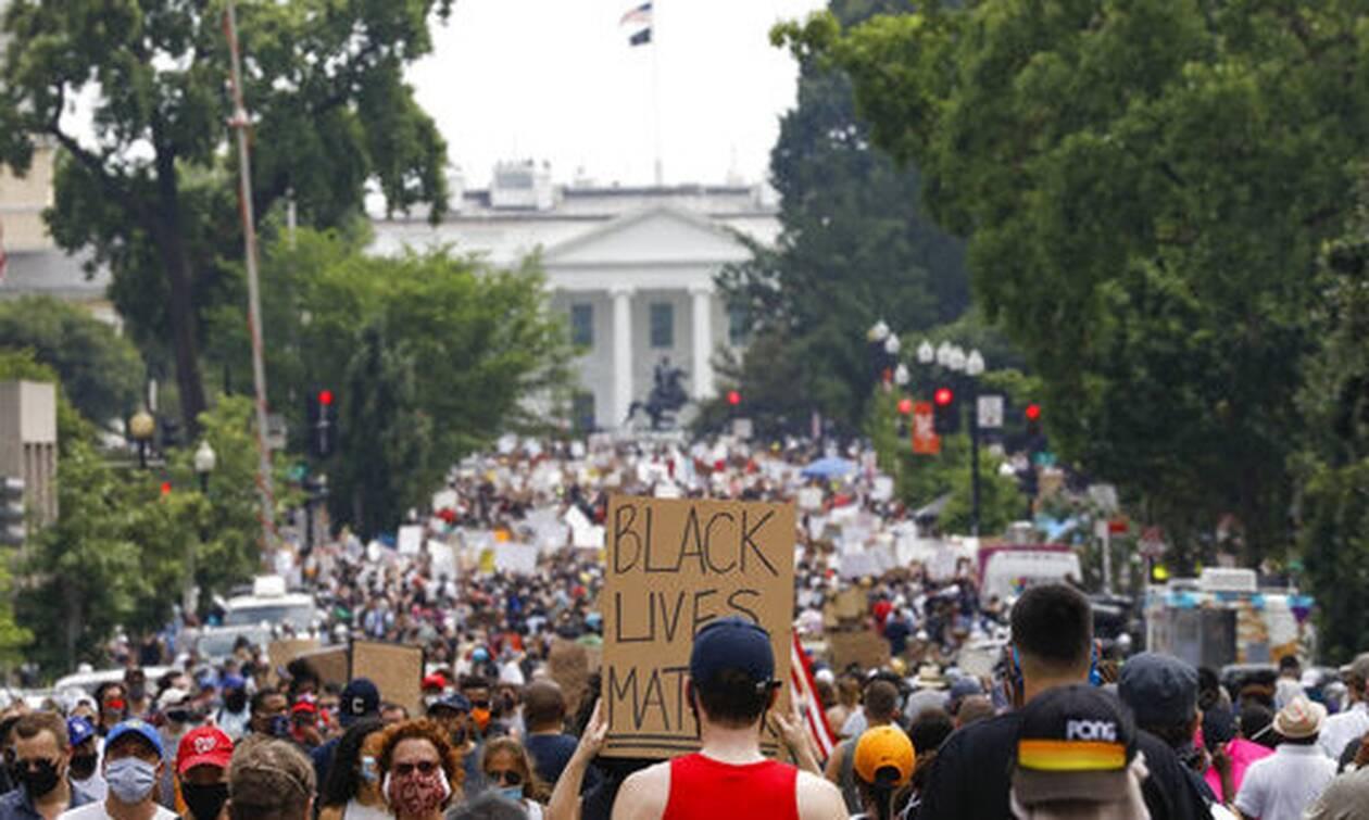 «Δεν μπορώ ν' αναπνεύσω» - LIVE: Χιλιάδες διαδηλωτές στην Ουάσινγκτον