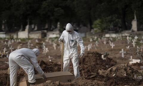 Κορονoϊός Βραζιλία: «Κατέβηκε» η σελίδα καταγραφής κρούσματων και θάνατων