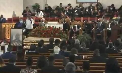 Live η κηδεία του Τζορτζ Φλόιντ