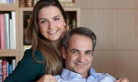Κυριάκος – Μαρέβα Μητσοτάκη: Οι τρυφερές ευχές στην κόρη τους