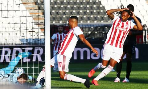 ΠΑΟΚ-Ολυμπιακός: Το VAR ακύρωσε το γκολ του Ελ Αραμπί (photos)