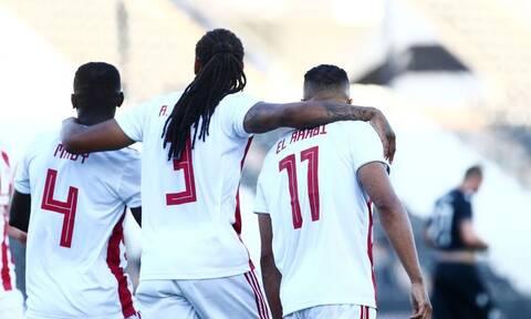 ΠΑΟΚ – Ολυμπιακός 0-1: Παρέλαση τίτλου και με… κορονοϊό (video+photos)