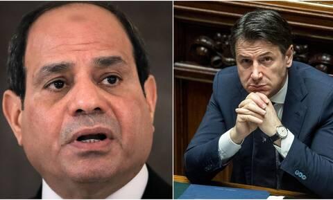 Τηλεφωνική επικοινωνία Αλ Σίσι - Κόντε: Τι συζήτησαν