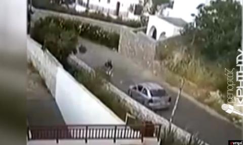 Βίντεο - Σοκ: 24χρονος εκσφενδονίζεται στον αέρα & καταλήγει στην άσφαλτο