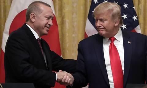 Επικοινωνία Τραμπ-Ερντογάν: Λιβύη, Συρία και Αν. Μεσόγειος στο «τραπέζι»