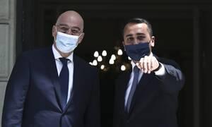 ΑΟΖ: Ιστορική συμφωνία Ελλάδας-Ιταλίας! Υπογράφουν Δένδιας και Ντι Μάιο