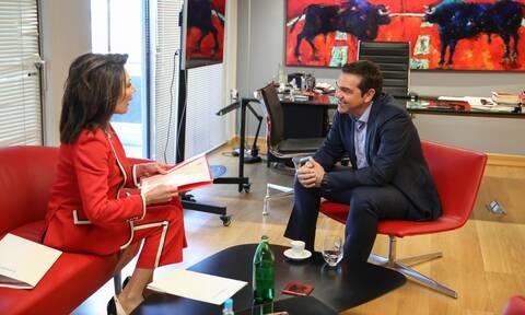 Συνάντηση Τσίπρα - Αγγελοπούλου για το έργο της Επιτροπής «Ελλάδα 2021»