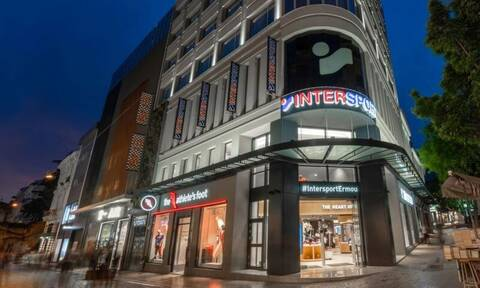 Τα σπορ συναντούν την τεχνολογία … στο νέο flagship κατάστημα INTERSPORT στο κέντρο της Αθήνας!