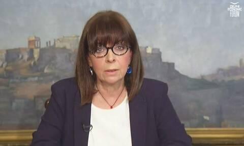 Σακελλαροπούλου: «Η Ελλάδα μετέτρεψε μια δεινή κρίση σε ευκαιρία»
