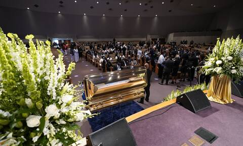 LIVE: Η κηδεία του Τζορτζ Φλόιντ στο Χιούστον