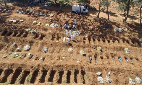 Κορονοϊός στη Βραζιλία: Τραγωδία χωρίς τέλος - 1.272 νέοι θάνατοι σε 24 ώρες