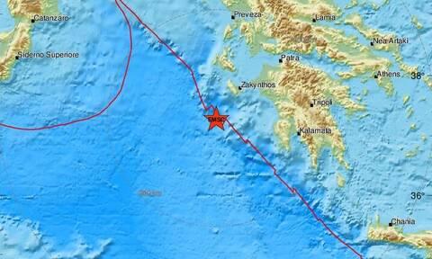 Σεισμός: Νέα σεισμική δόνηση κοντά στη Ζακυνθο (pics)