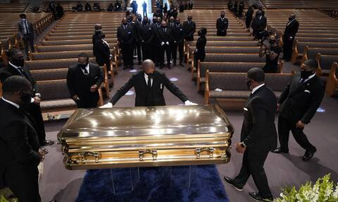 Το Χιούστον αποχαιρέτησε τον Τζορτζ Φλόιντ - Σε κλίμα συγκίνησης η κηδεία του
