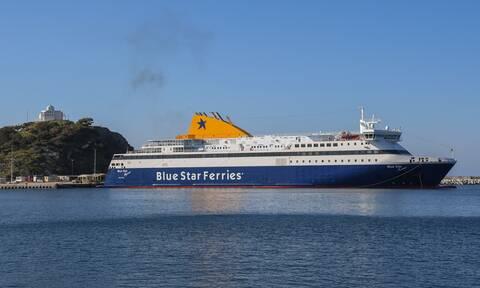 Τραγωδία στο «Blue Star Chios»-Νεκρός 45χρονος ναυτικός