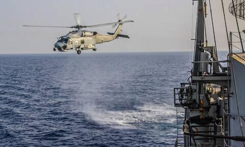 Άφαντη η Ευρώπη: Μόνο η ελληνική φρεγάτα κυνηγά το πλοίο που μεταφέρει όπλα