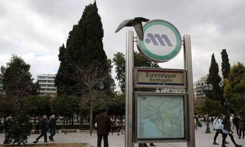 Сегодня в Афинах закрыта станция метро «Синтагма» и перекрыт въезд в центр города