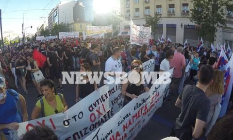 Πανεκπαιδευτικό συλλαλητήριο στο κέντρο της Αθήνας - Κλειστή η Πανεπιστημίου