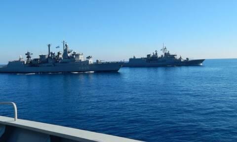 Ασπίδα στο Αιγαίο ο Στόλος: Στο στόχαστρο τουρκικές φρεγάτες και ερευνητικά