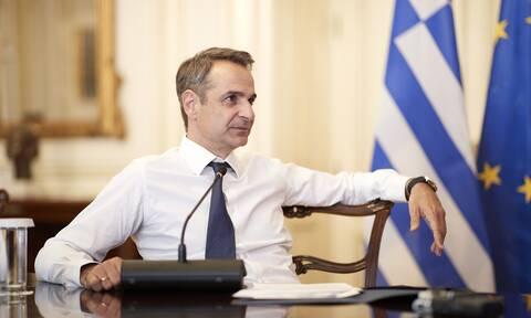 Μητσοτάκης σε κομματική τηλεδιάσκεψη: Κανένας λόγος για πρόωρες εκλογές