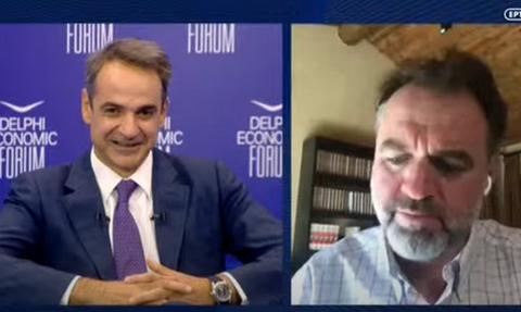 Live: Ο Κυριάκος Μητσοτάκης στο Οικονομικό Forum των Δελφών