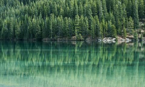 Απόκοσμο θέαμα σε λίμνη – Δείτε τι συνέβη (pics)