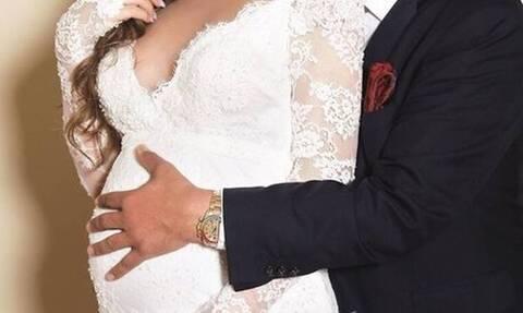 Οι πρώτες φωτό του γάμου Ελληνίδας καλλονής! Παντρεύτηκε λίγο πριν γεννήσει