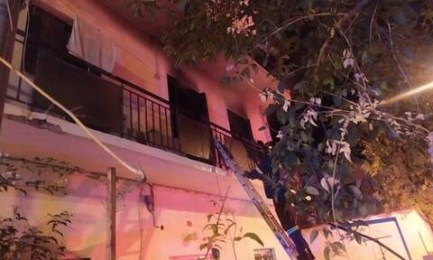 Φωτιά στα Χανιά: Στις φλόγες διαμέρισμα στα Παχιανά