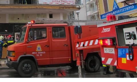Φωτιά ΤΩΡΑ σε αποθήκη στον Ασπρόπυργο - Διακοπή κυκλοφορίας στη Λ. ΝΑΤΟ