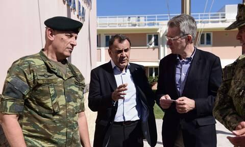 Παναγιωτόπουλος: Έτοιμοι να υπερασπιστούμε τα κυριαρχικά μας δικαιώματα