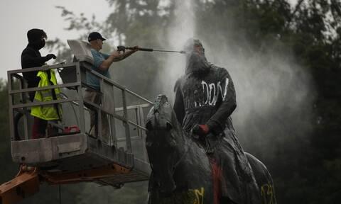 Βέλγιο: Οργή και επιθέσεις σε αγάλματα του Λεοπόλδου Β'