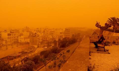Καιρός: Έρχεται μίνι καύσωνας αλλά και αφρικανική σκόνη (vid)