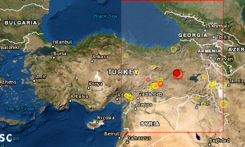 Ισχυρός σεισμός «χτύπησε» την Τουρκία