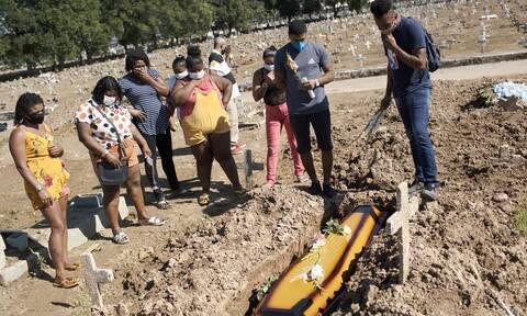 Κορονοϊός στη Βραζιλία: Άλλοι 612 νεκροί από COVID-19 σε 24 ώρες