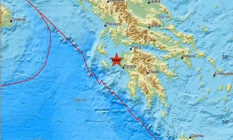 Σεισμός κοντά στην Κυλλήνη (pics)