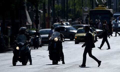 Μεγάλος Περίπατος - Κίνηση: «Κόλαση» το κέντρο της Αθήνας