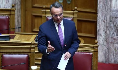 Σταϊκούρας: Με τα σημερινά δεδομένα η χώρα δεν θα αποκτήσει ταμειακό πρόβλημα