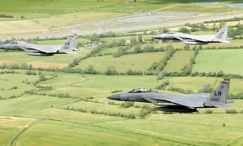 Μαχητικό αεροσκάφος των ΗΠΑ συνετρίβη στη Βόρεια Θάλασσα - Αγνοείται ο πιλότος