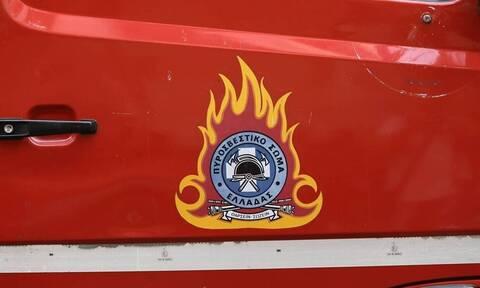 Φωτιά ΤΩΡΑ σε φορτηγό στην Αθηνών – Λαμίας