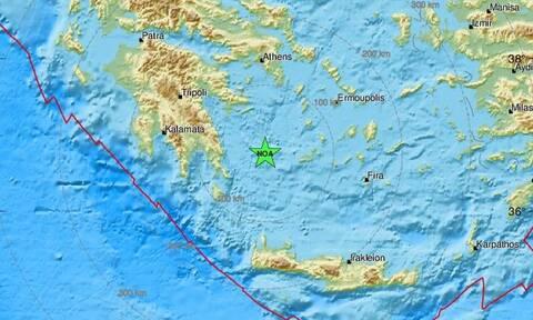 Σεισμός δυτικά της Μήλου (pics)