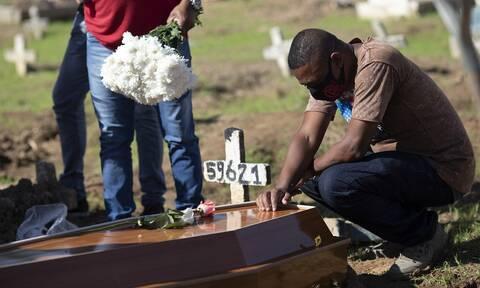 Κορονοϊός στη Βραζιλία: Σχεδόν 44.000 οι νεκροί - Πάνω από 888.000 τα κρούσματα