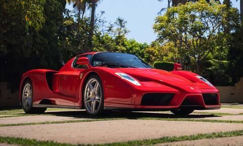 Αυτή η Ferrari Enzo είναι το πιο ακριβό αυτοκίνητο που έχει πουληθεί online σε δημοπρασία