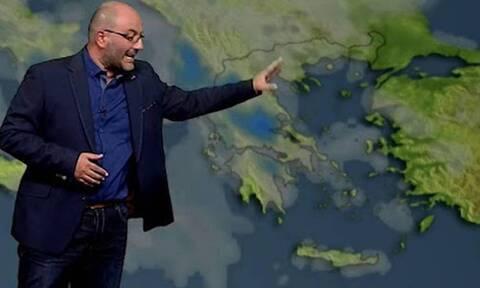 Καιρός - Αρναούτογλου: Προσοχή! Σε ποιες περιοχές θα σημειωθούν έντονα φαινόμενα...