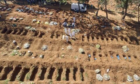 Κορονοϊός στη Βραζιλία: Πάνω από 45.000 οι νεκροί - Νέο ρεκόρ ημερήσιων κρουσμάτων