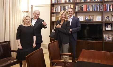 Γεύμα Μητσοτάκη-Νετανιάχου μετά συζύγων: Τι είπαν για τις σχέσεις Ελλάδας-Ισραήλ