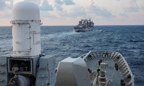 Πολεμικό Ναυτικό: «Πλωτή ασπίδα» στο Αιγαίο - «Είμαστε έτοιμοι για όλα»